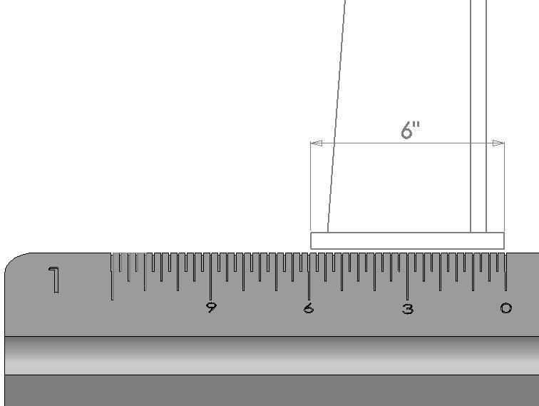 how to scale a drawing to make sure it is accurate